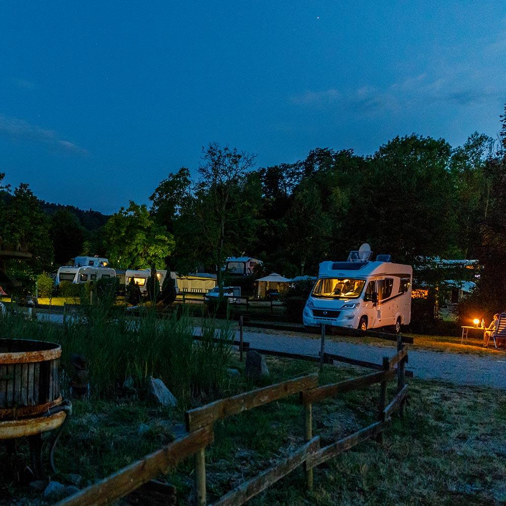 campingplatz-abend